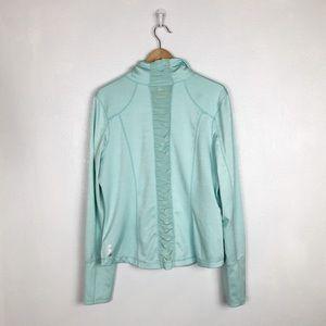 Zella Jackets & Coats - Zella turquoise zipper jacket